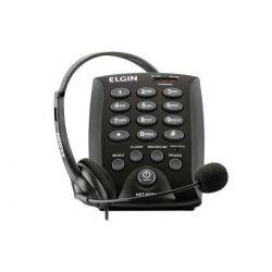 TELEFONE HEADSET HST-6000 PRETO ELGIN